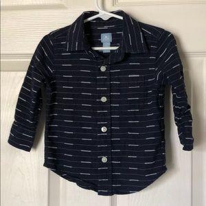 Boys button down size 12-18 months